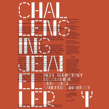 Challenging Jewellery Programme, Sandberg Instituut