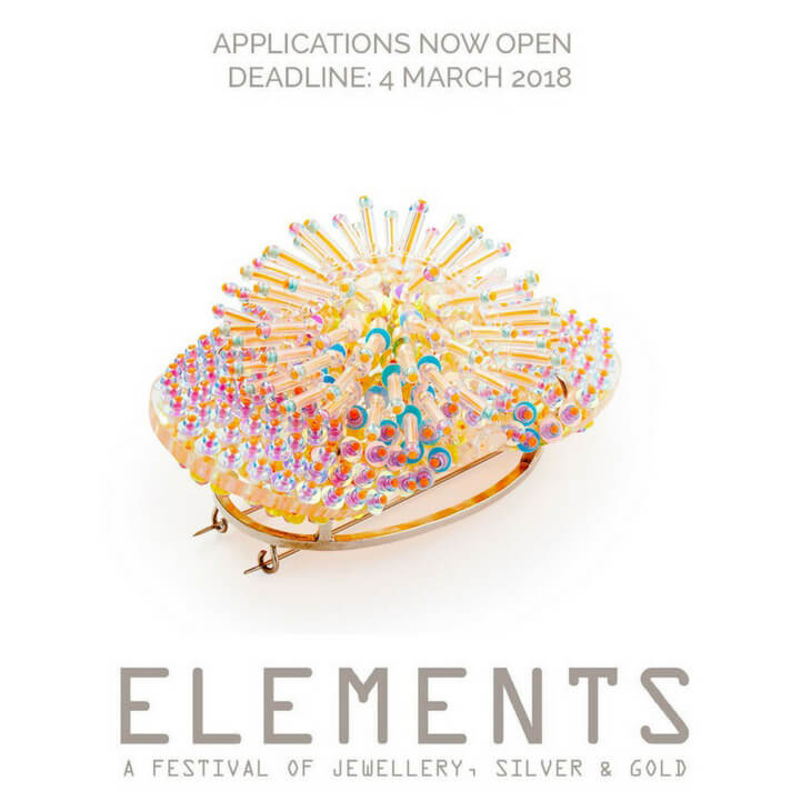 Call for Applications: Elements 2018