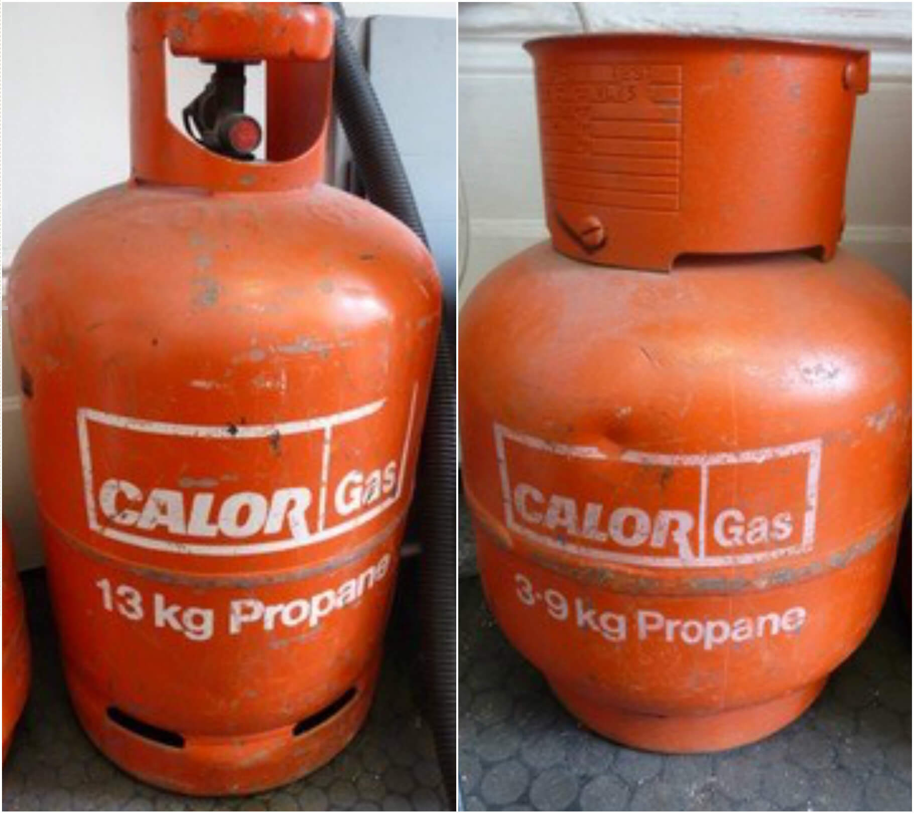 Benchpeg | For Sale: Two Propane Gas Bottles