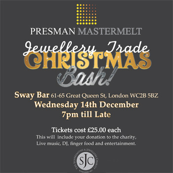 Jewellery Trade Christmas Party